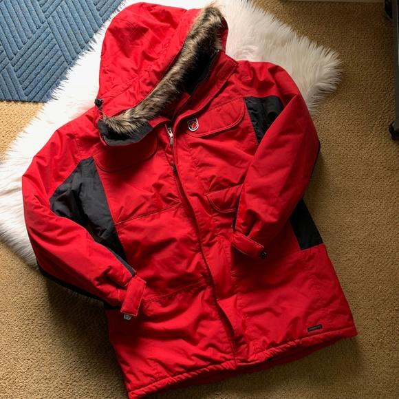 ba5c2061e04 Fjallraven Jackets   Blazers - Fjallraven Womens Kodiak Parka Red Size  Large EUC